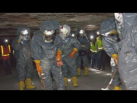 First look inside WIPP radiation cleanup