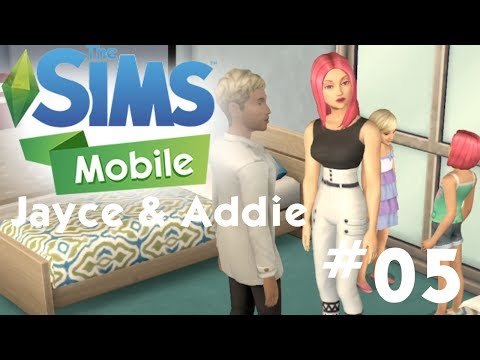 The Sims Mobile - Jayce and Addie - Getting a Divorce - Let's Play Part 05