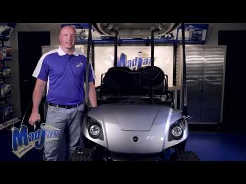 Brushguard for Yamaha® Drive® | How to Install Video | Madjax® Golf Cart Accessories