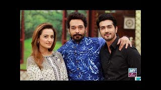"Faysal Qureshi, Momal Sheikh & Shahzad Sheikh Playing ""rapid Fire"""