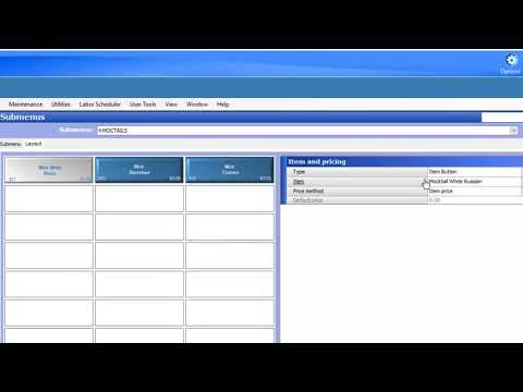 Aloha Table Service Manager NCR V17 Price Levels