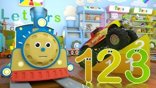 Download Learn Numbers with Max the Train & Bill the Monster Truck – TOYS (Numbers and Toys)