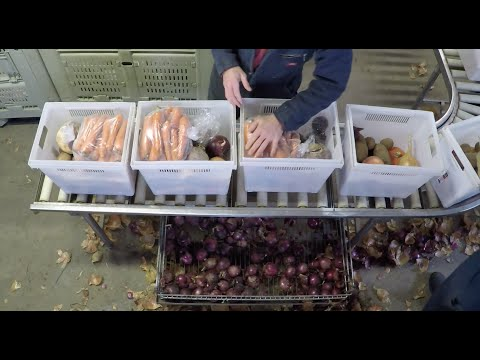 Winter Share Packing - Food Farm Slow TV