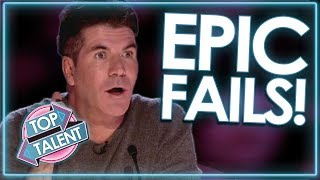 Auditions Gone WRONG! EPIC FAIL Compilation! | Top Talent