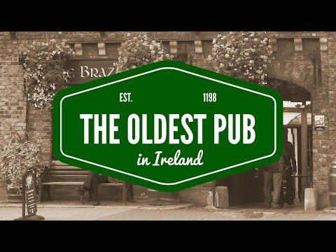 Oldest Pub in Ireland - Dublin's The Brazen Head (since 1198)