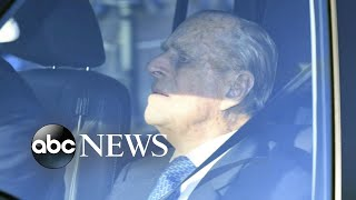 Prince Philip reportedly spotted back behind the wheel