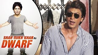 Shahrukh Khan OPENS On Dwarf Movie Trailer And Poster