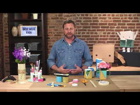 George Oliphant, DIY extrordinarire gives suggestions for Mother's Day gifts