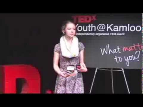 The Art of Accepting Compliments: Emily McIntyre at TEDxYouth@Kamloops