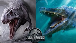 Download The True Danger In The Mosasaurus's Escape - I-Rex Similarities   Jurassic World 2 Theories Video