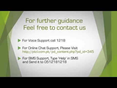 LAN Settings in PTCL Tenda W150D Modem on Vimeo clip12