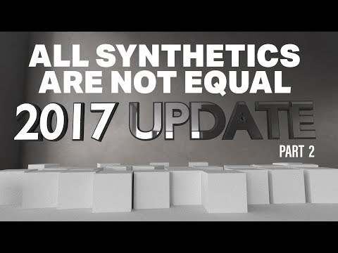 ALL SYNTHETICS ARE NOT EQUAL - FALL 2017 PRODUCT UPDATES