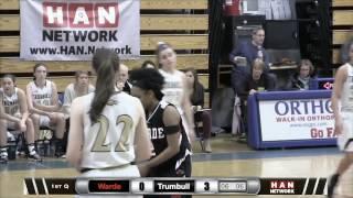 HAN Sports: FCIAC Girls Basketball Semifinals #1 Trumbull vs. #5 Fairfield Warde 2.21.17