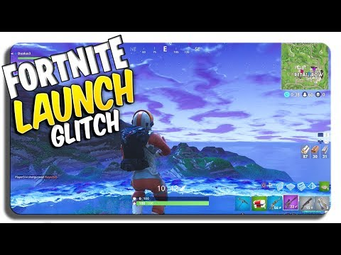 Fortnite Glitches: INSANE Launch Glitch! (FLY into OUTER SPACE)
