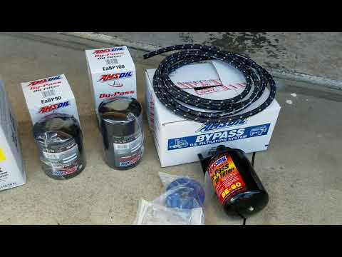 Chevy 2500 Duramax Allison Oil and Filter Change Amsoil Diesel Oil