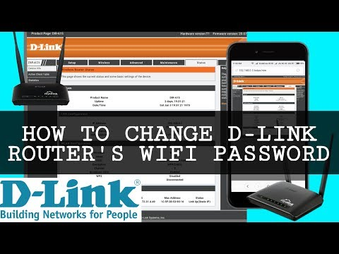 how to change dlink wifi password in mobile  - [Hindi/Urdu]