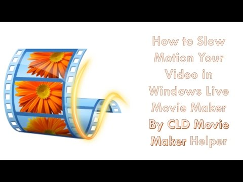 How to Make Your Video Slow Motion in Windows Movie Maker