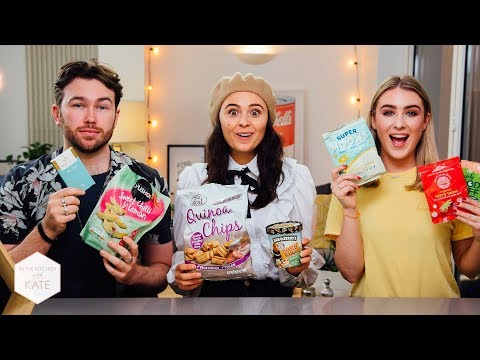 Trying Vegan Snacks with Venetia Falconer - In The Kitchen With Kate