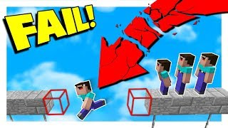 NOOB gets KICKED OUT OF PARKOUR HIGHSCHOOL!