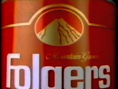 80's Ads: Folgers Instant Coffee 1984