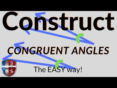 Geometry - Construct - Congruent Angle