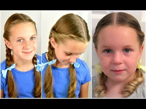 Dorothy Gale Braids | Halloween Hairstyle | BabesInHairland.com