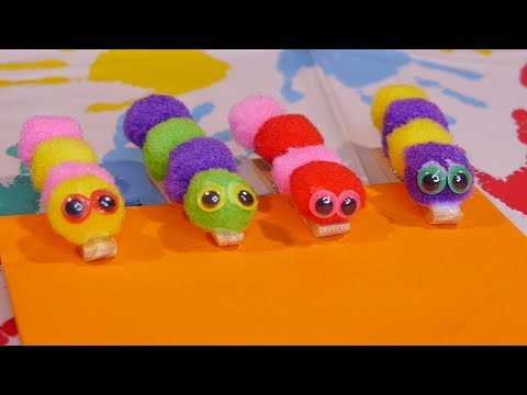 How To Make a Caterpillar Paperclip
