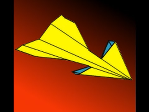 How to Make the Best Antelope Paper Airplane Instructions Video