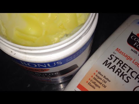 PALMER'S COCOA BUTTER STRETCH MARK BODY LOTION | PALMER'S COCOA BUTTER REVIEW