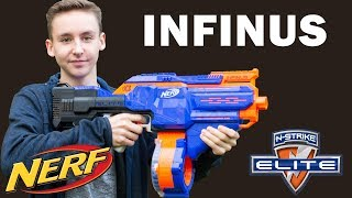 Nerf Infinus Review, Unboxing & Test | Magicbiber [deutsch]