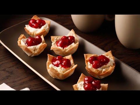 Philly Phyllo Cheesecake Tarts