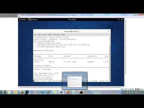 Configure a simple web server(Part1)