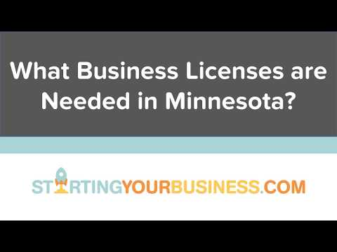 What Business Licenses are Needed in Minnesota - Starting a Business in Minnesota