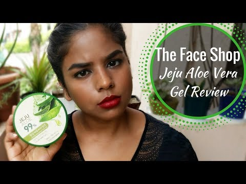 The Face Shop Jeju Aloe Vera Fresh Soothing Gel Review