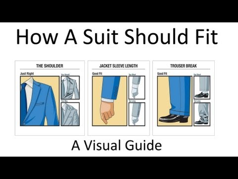 How A Suit Should Fit |  Buy A Proper Fitted Suit | What Good Fitting Suits Look Like Video Tutorial