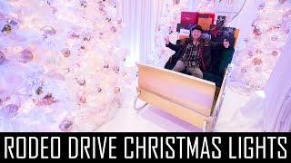RODEO DRIVE CHRISTMAS LIGHTS!