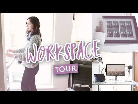 Design workspace tour - Working from home