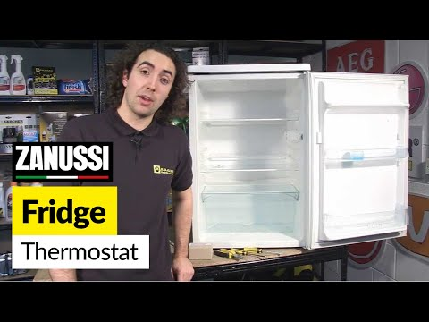 How to Replace a Fridge Thermostat - Zanussi