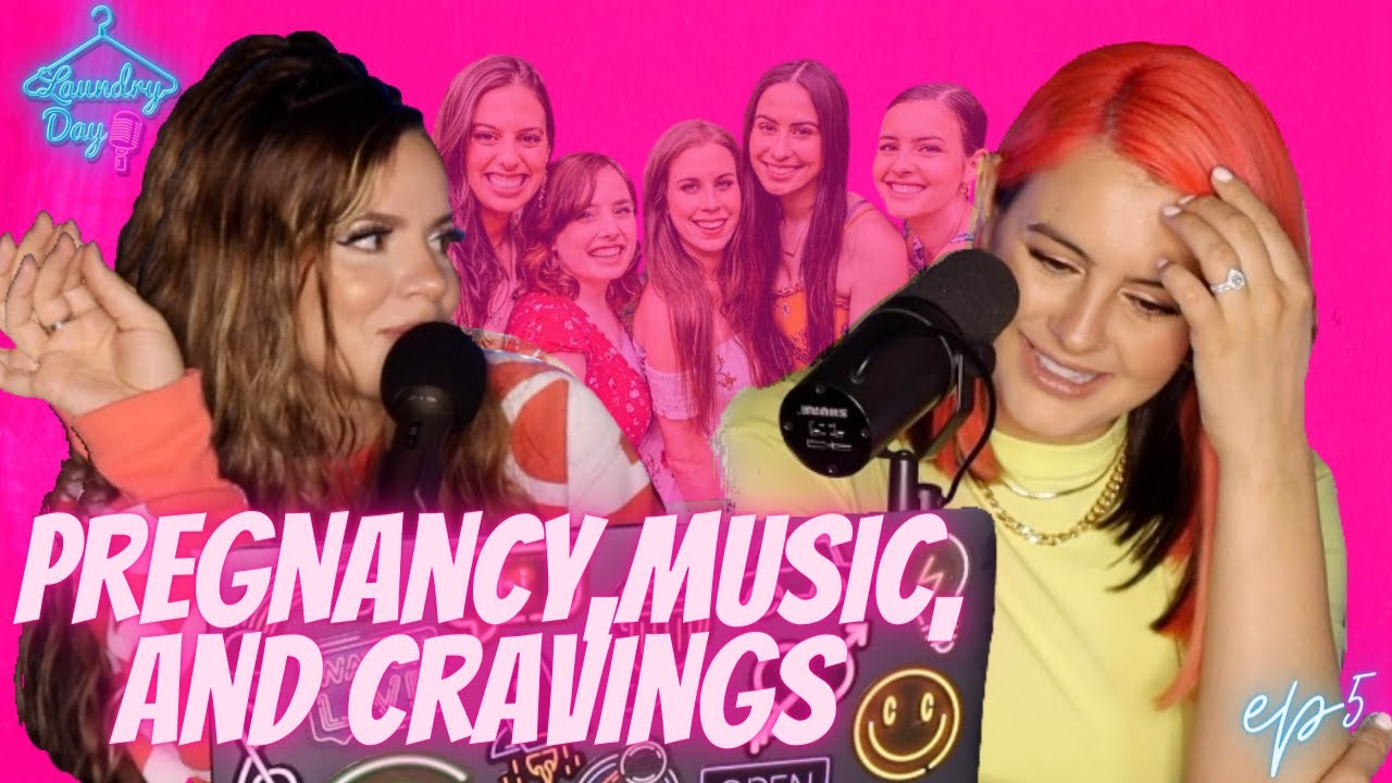 Pregnancy, Music, and Cravings OH MY! (Interviewing Lisa Cimorelli) LAUNDRY DAY #5