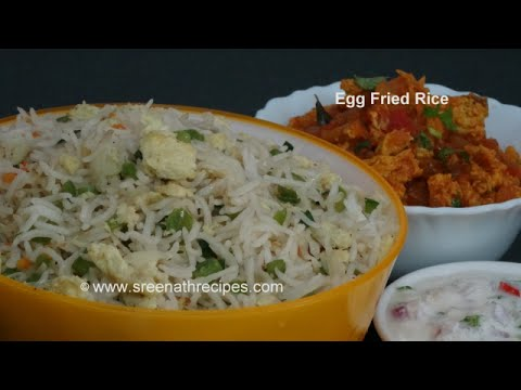 Egg Fried Rice - Restaurant style Egg Fried Rice