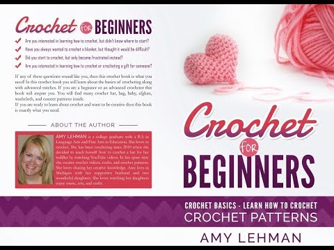 Crochet for Beginners Paperback Giveaway - Ends June 10th