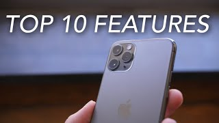 TOP 10 iPhone 11 Pro (Max) Features!