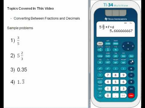 Converting Between Fractions and Decimals.wmv