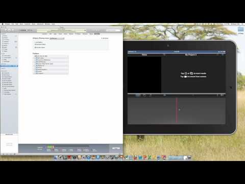 How to move videos from Mac to iPad iMovie App