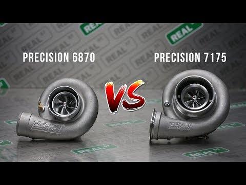 Precision 6870 vs 7175 1000hp Turbo Dyno Comparison - Real Street Performance
