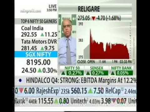 NDTV PROFIT - Mr. Sunil Godhwani's interaction on Religare's business reorganization