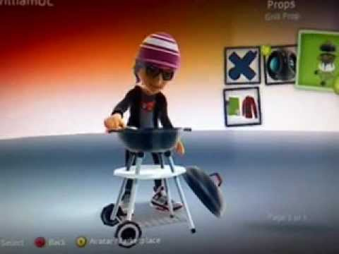 3 FREE XBOX 360 AVATAR PROPS