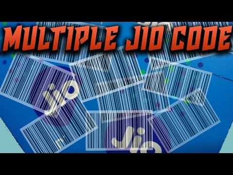 How To Generate Multiple Jio code - 200% WORKING TRICK