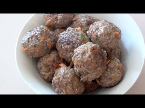 CHEESY MEATBALLS - KIDS RECIPE