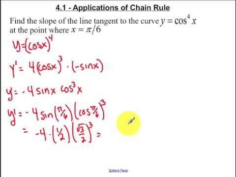 4.1 - Day 2 Chain Rule